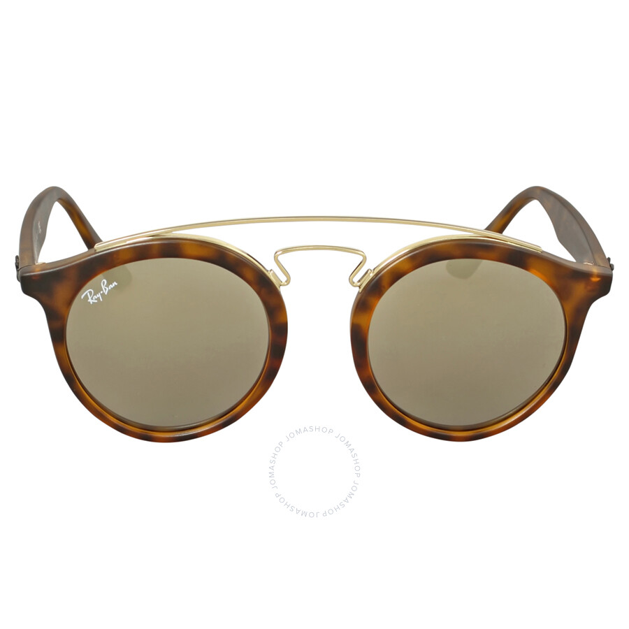 4406ac80e3 Ray Ban RB4256 Gatsby I Gold Mirror Sunglasses RB4256 60925A 46 Item No.  RB4256 60925A 46-20
