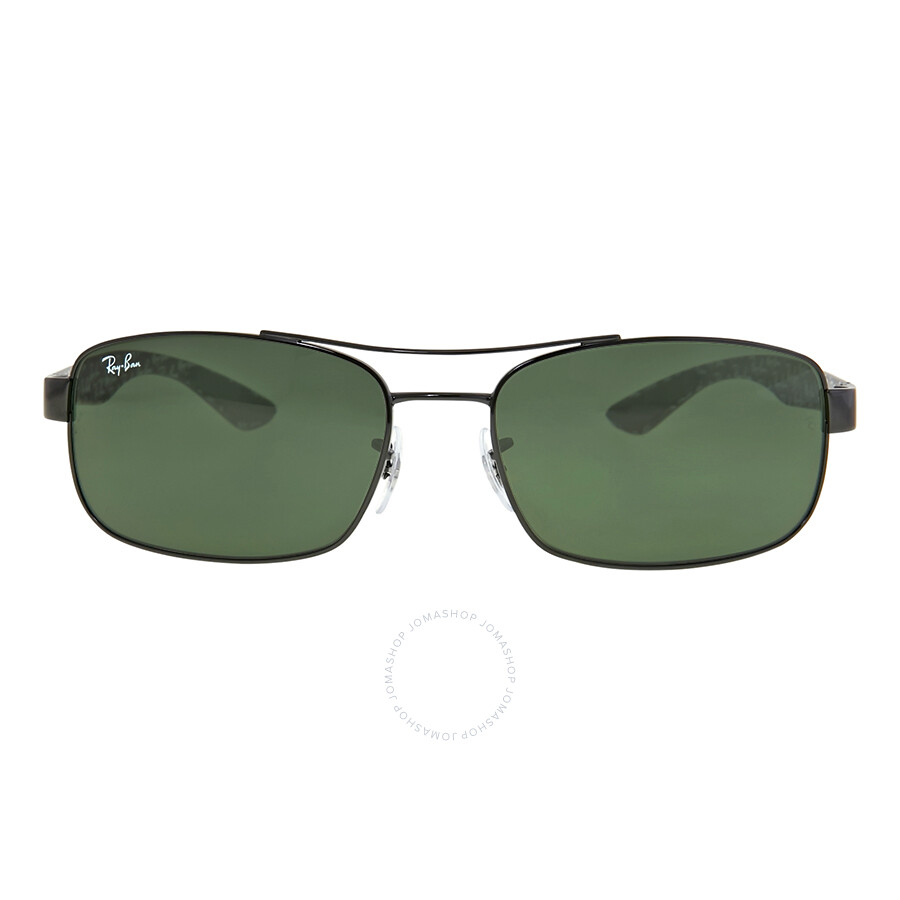 0d5a0dc56e Ray-Ban Rectangle Green Classic G-15 Sunglasses RB8316 002 62 - Ray ...