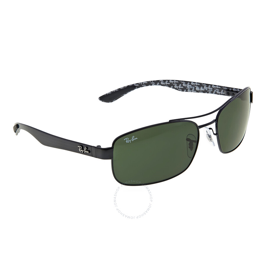 8eb87c4b8806d Ray-Ban Rectangle Green Classic G-15 Sunglasses RB8316 002 62 - Ray ...
