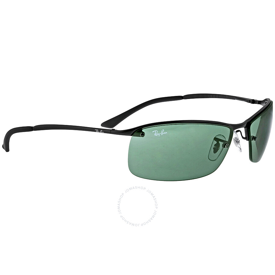 Ban Rectangle Sunglasses Semi Ray Rimless SpVGzqUM
