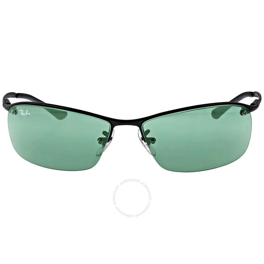 Rimless Rectangle Glasses : Ray-Ban Rectangle Semi-Rimless Sunglasses - Active - Ray ...