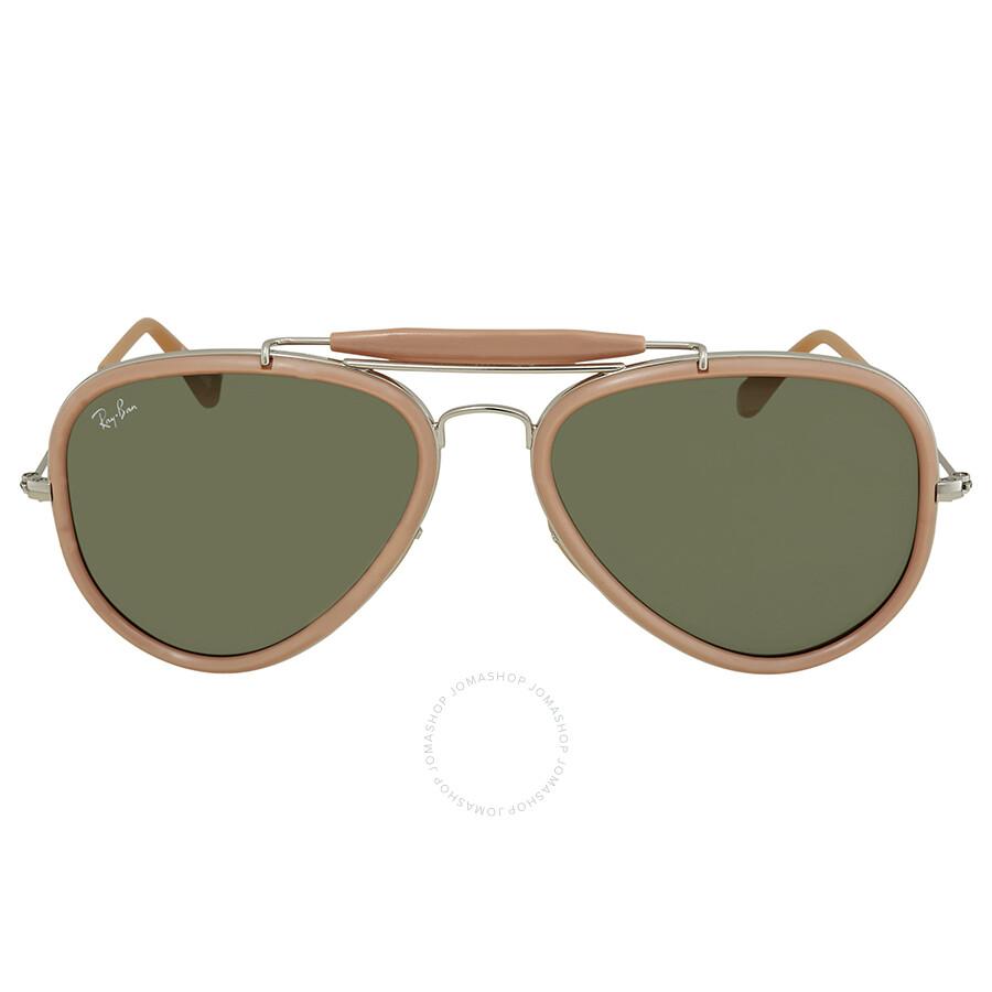 0061eaf3d4 ... Ray Ban Road Spirit Reloaded Green Aviator Sunglasses RB3428 W3377 58  ...