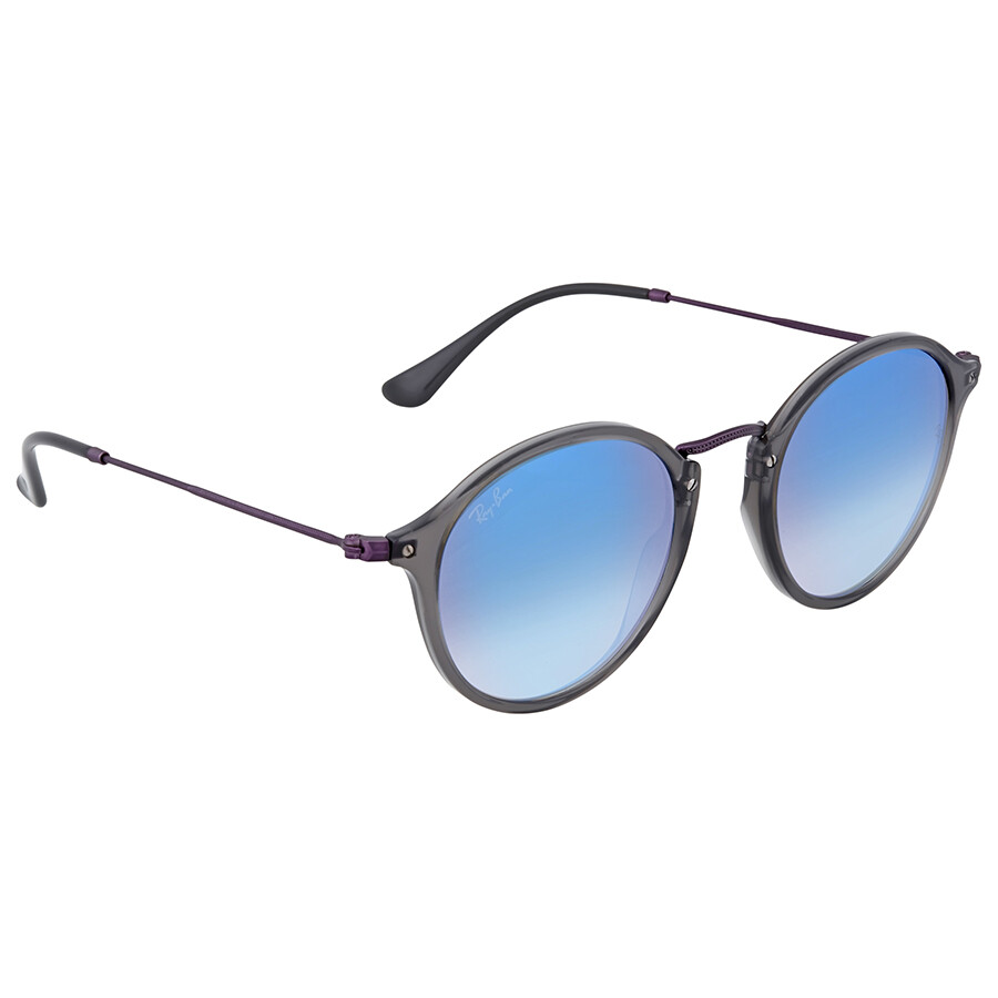 31b946ef32313 Ray Ban Round Blue Gradient Flash Sunglasses - Ray-Ban - Sunglasses ...