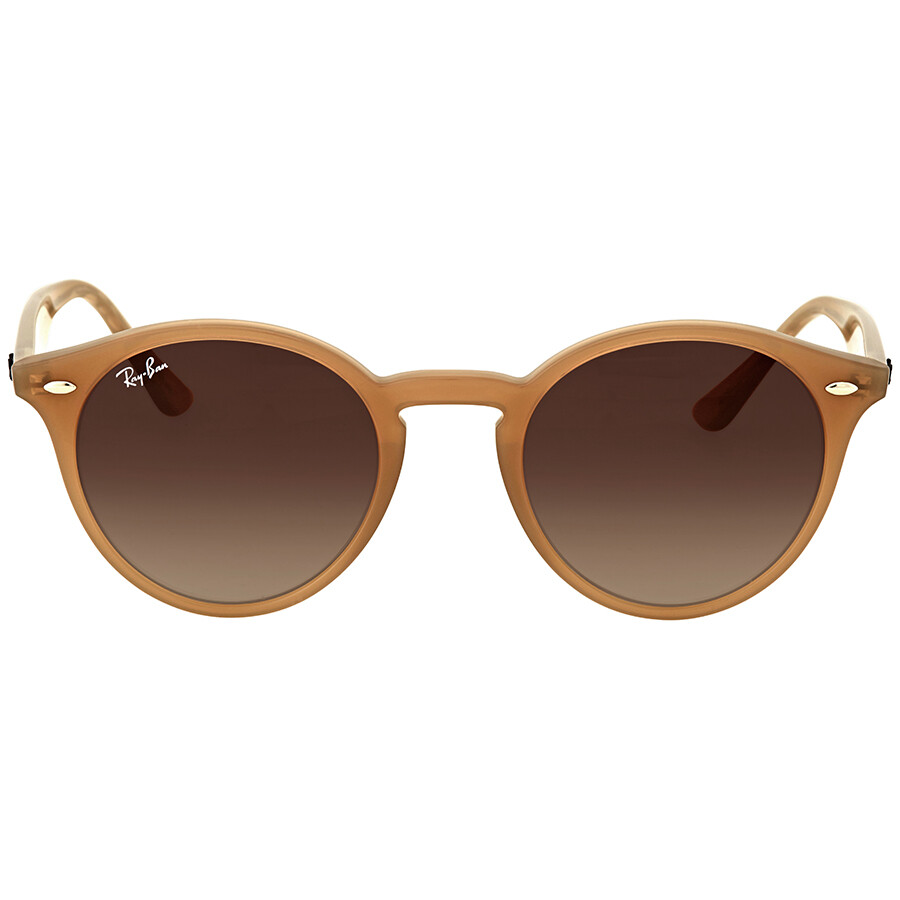 ac5507297ef1a Ray Ban Round Brown Gradient Sunglasses - Ray-Ban - Sunglasses ...