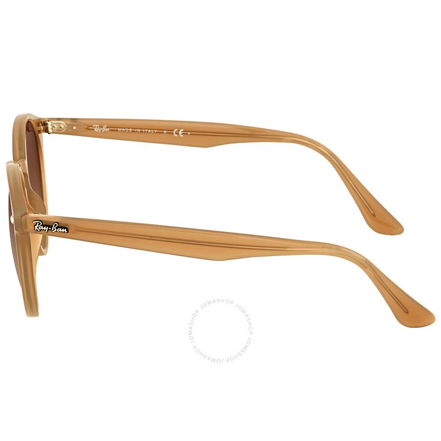 f5ebb85bb1 Ray Ban Round Brown Gradient Sunglasses - Ray-Ban - Sunglasses ...