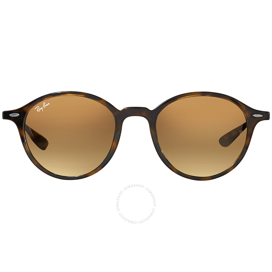b00e96cc42 Ray Ban Round Brown Gradient Sunglasses RB4237 710 85 50 - Round ...