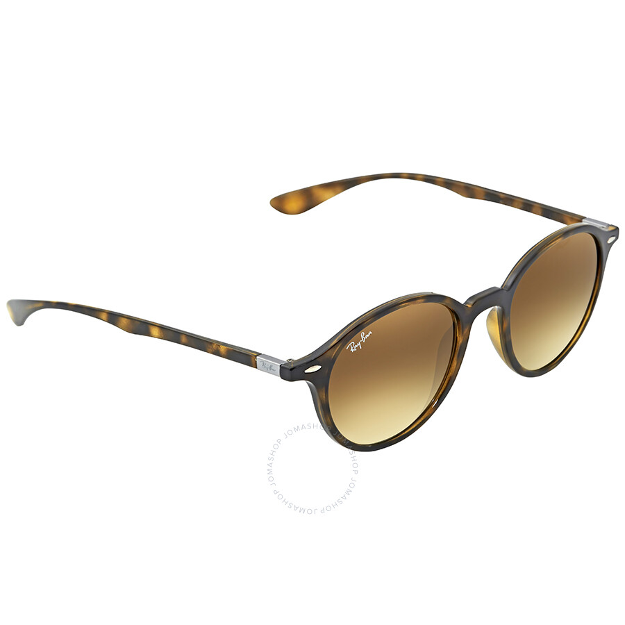 b683bd73e3 Ray Ban Round Brown Gradient Sunglasses RB4237 710 85 50 - Round ...