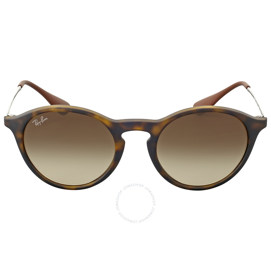 Ray-Ban Round Brown Gradient Sunglasses - Round