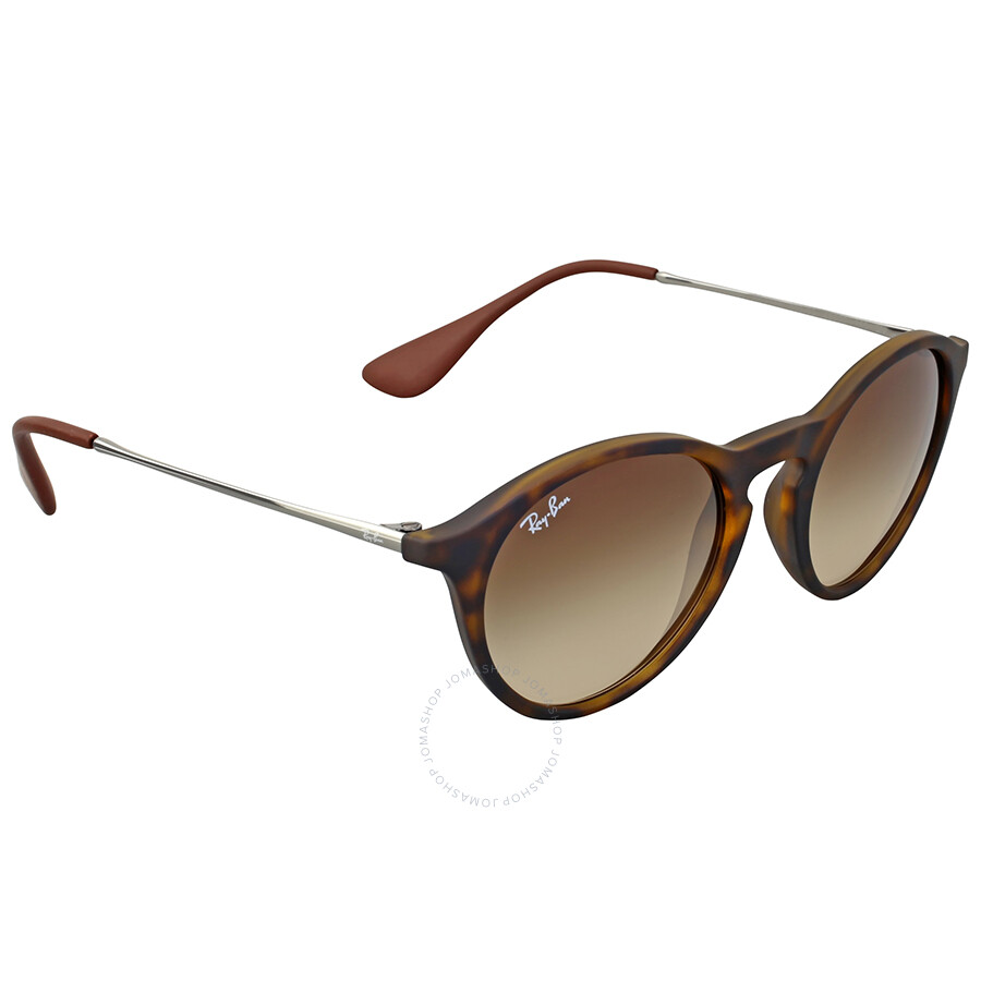 5915f87ccd302 Ray-Ban Round Brown Gradient Sunglasses - Round - Ray-Ban ...