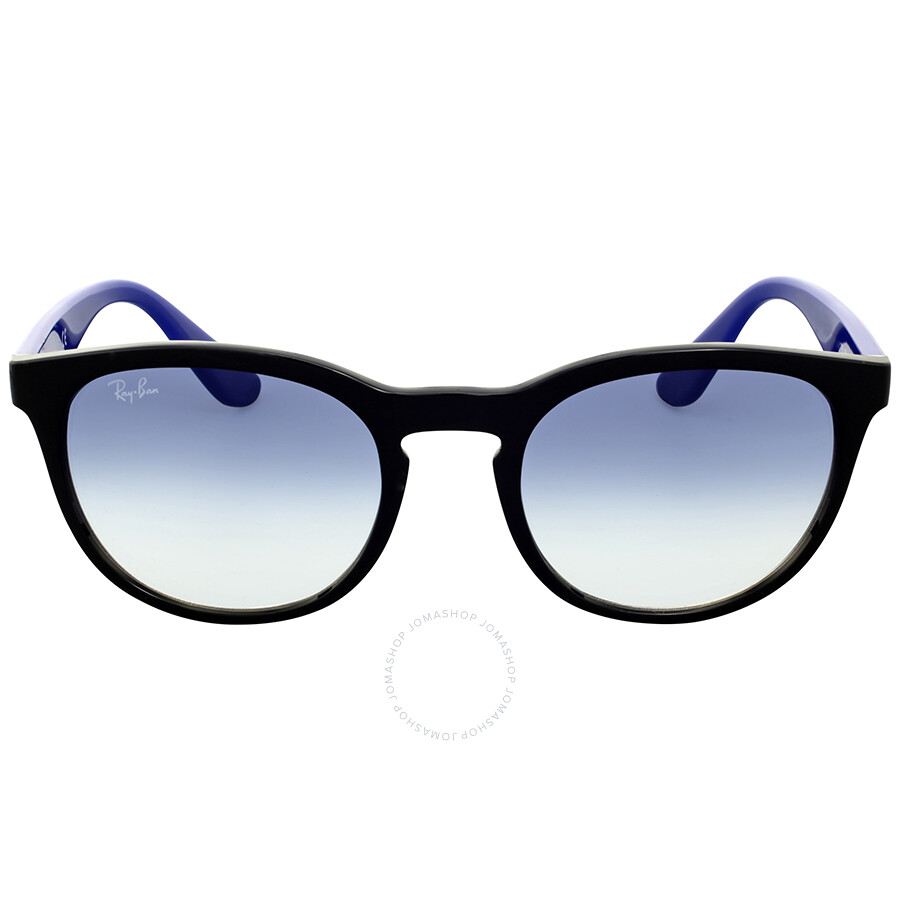Ray-Ban Round Clear Gradient Blue Sunglasses - Round - Ray-Ban ... e379898d3832