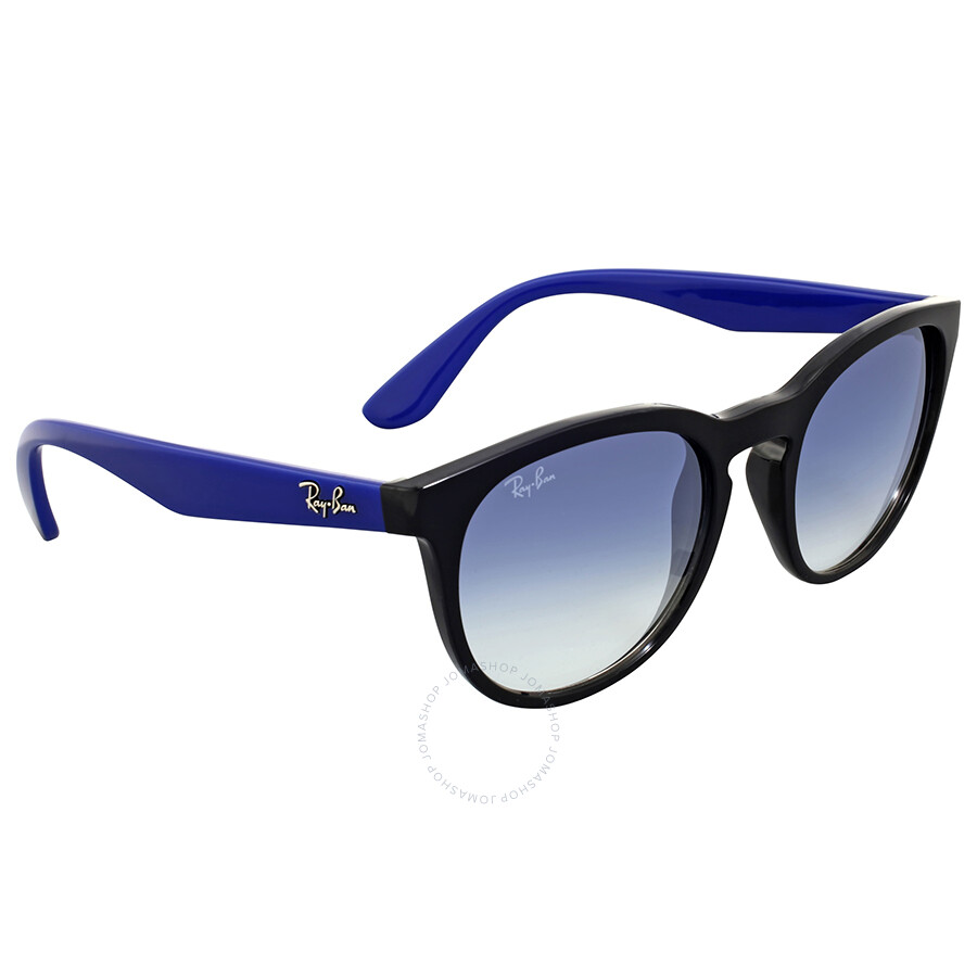 36be980fa Ray-Ban Round Clear Gradient Blue Sunglasses - Round - Ray-Ban ...