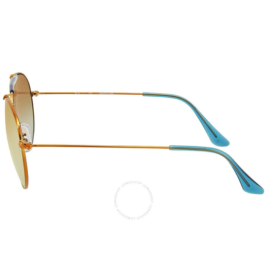 a3106dc602 ... Ray Ban Round Copper Gradient Flash Sunglasses RB3540-198 7Y-56 ...
