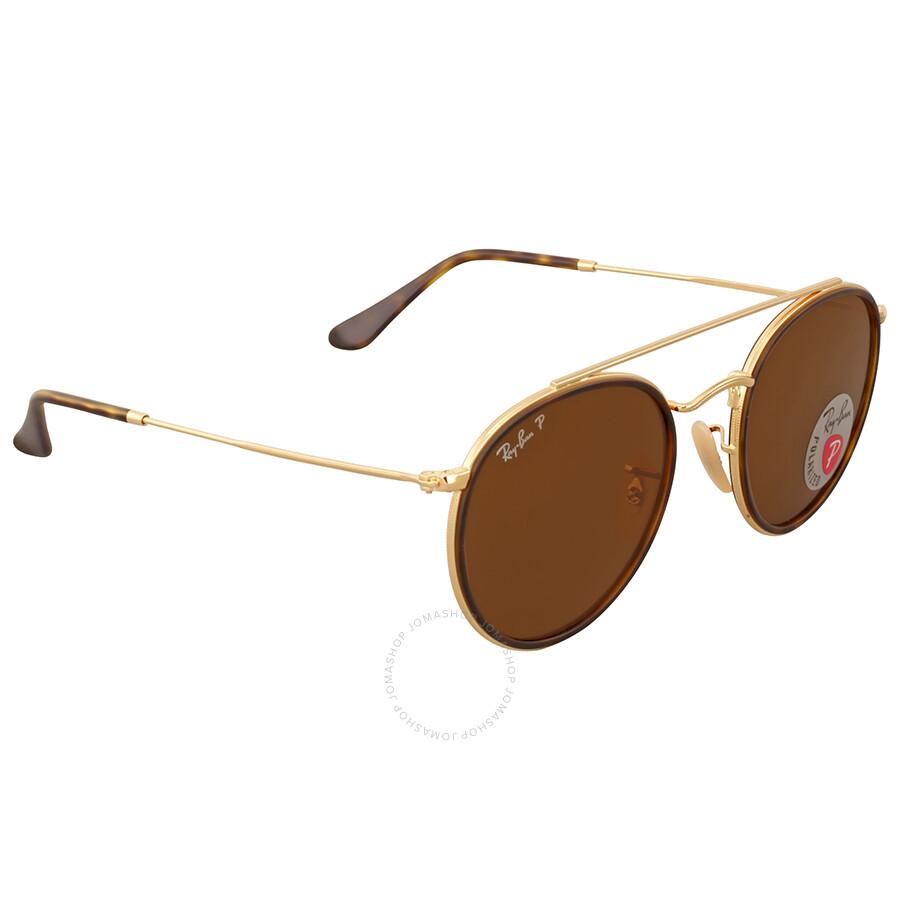 068388a8cfe Ray Ban Round Double Bridge Polarized Sunglasses Ray Ban Round Double  Bridge Polarized Sunglasses ...
