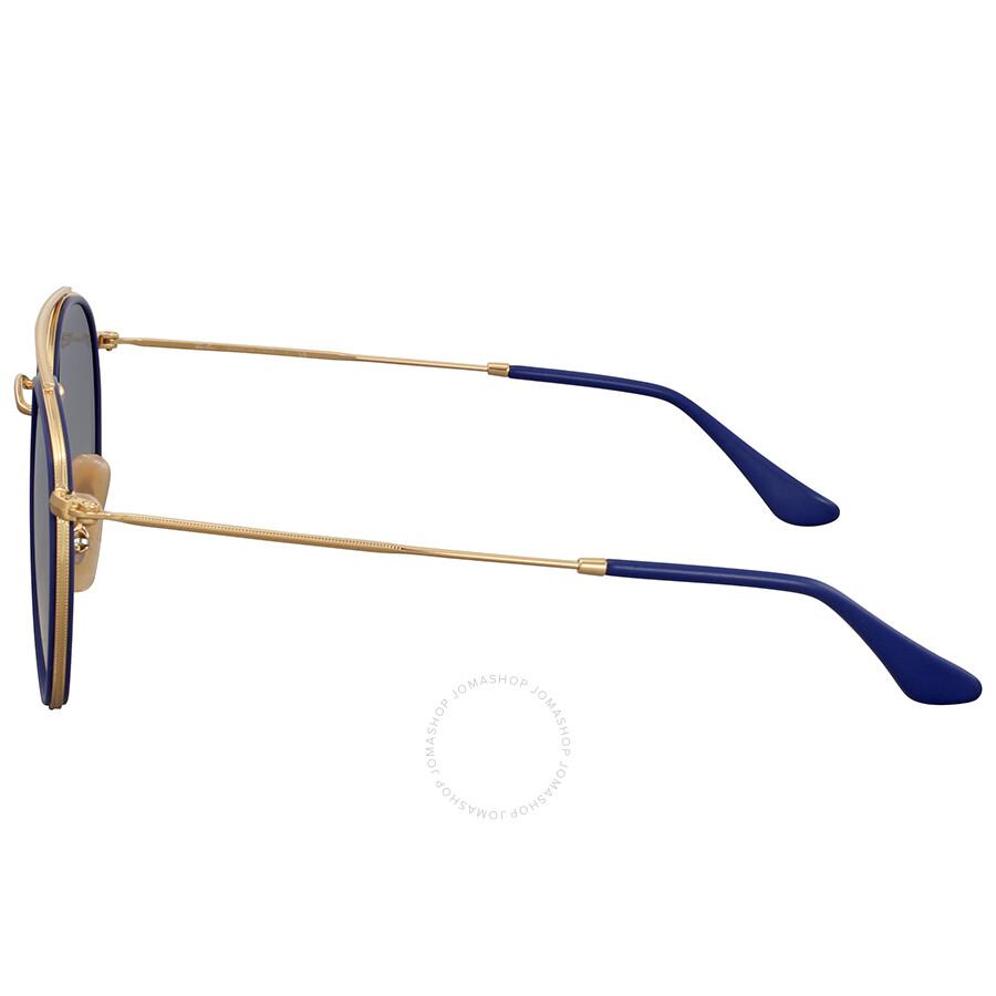 adc8353cf5f Ray Ban Sunglasses Round Double Bridge