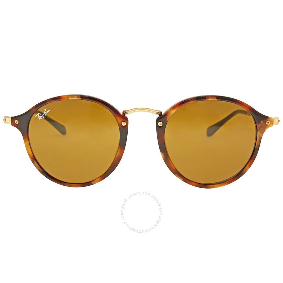 Ray Ban Round Fleck Brown Classic B-15 Sunglasses 66316e001a