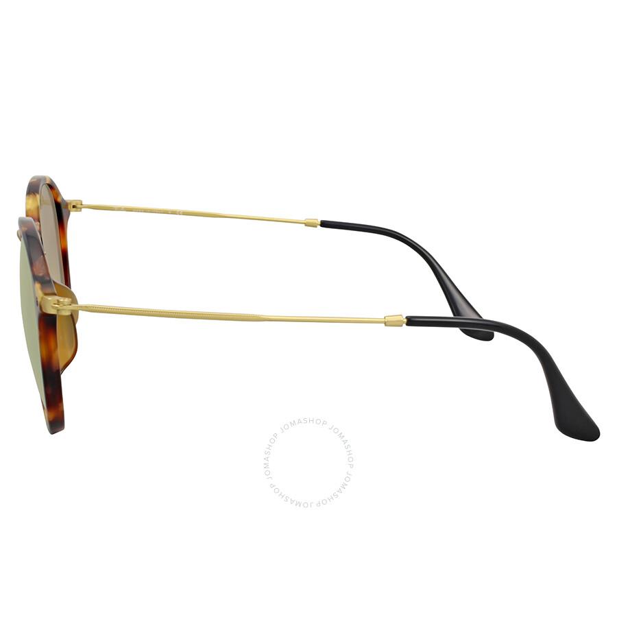 b7f43c1332959 ... Ray Ban Round Fleck Flash Copper Gradient Flash Sunglasses RB2447F  11607O 52