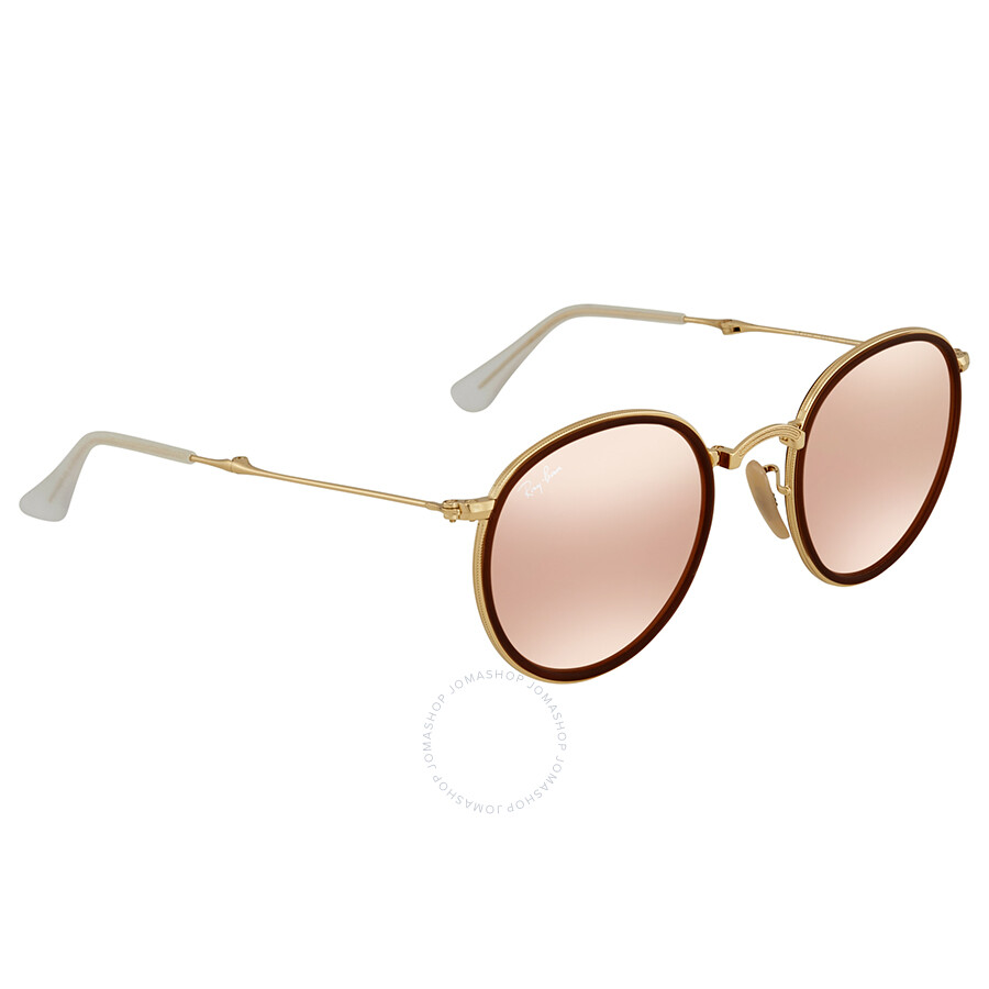 80d9a54235ad2 ... promo code for ray ban round folding copper flash sunglasses rb3517 001  z2 48 d045d c5f05