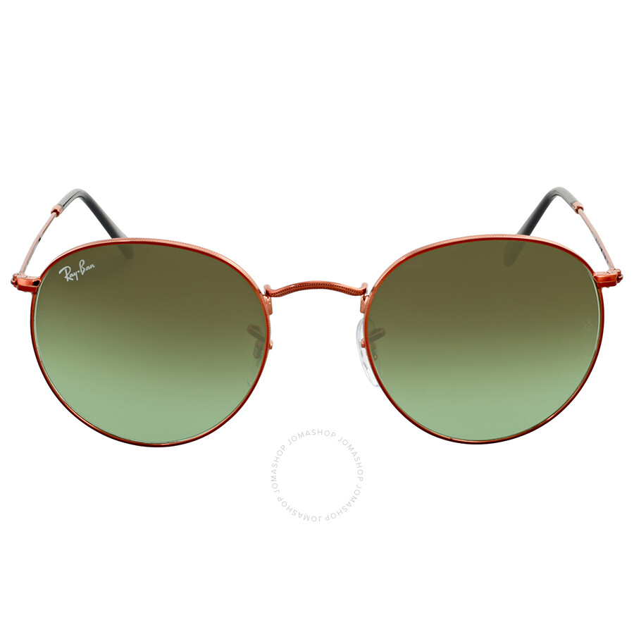 b694fbee74b Ray Ban Round Green Gradient Sunglasses Item No. RB3447 9002A6 53