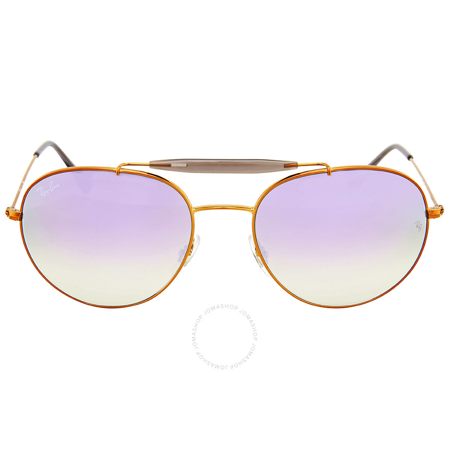 0fe522b9ec2 Ray Ban Round Lilac Gradient Flash Sunglasses - Round - Ray-Ban ...