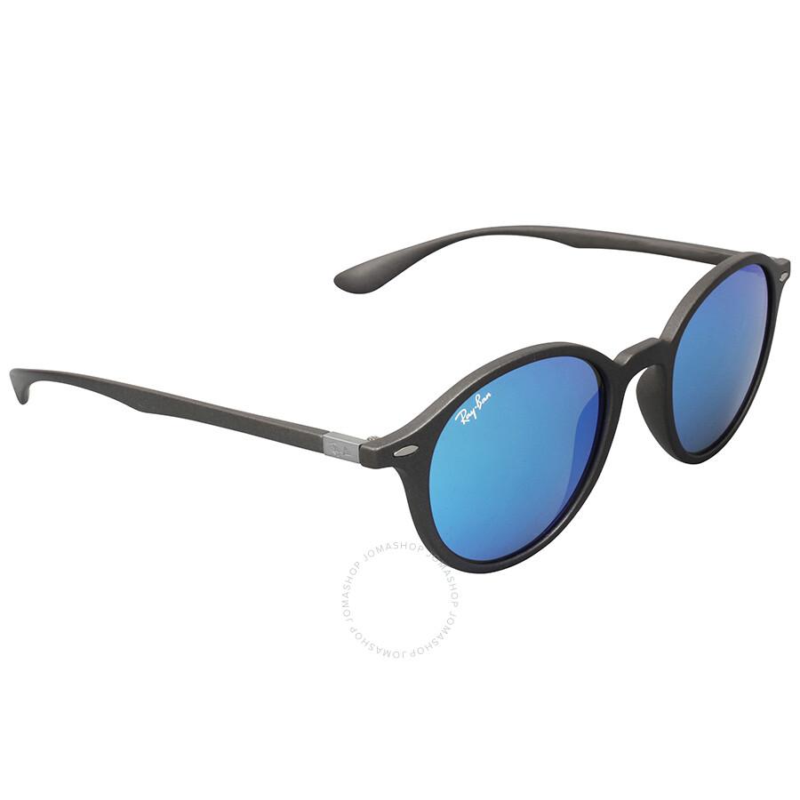 41ba07c8ad Ray-Ban Round Liteforce Blue Flash Sunglasses - Round - Ray-Ban ...