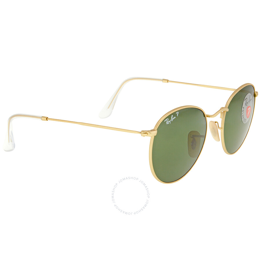 74478c9c35d ... Ray Ban Round Metal Polarized Green Classic G-15 Sunglasses RB3447  112 58 50