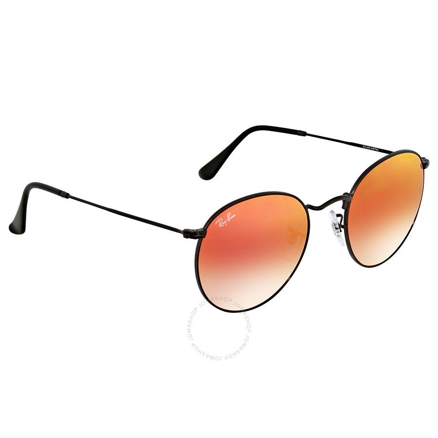 e408749d11fa Ray Ban Round Orange Gradient Flash Sunglasses - Round - Ray-Ban ...