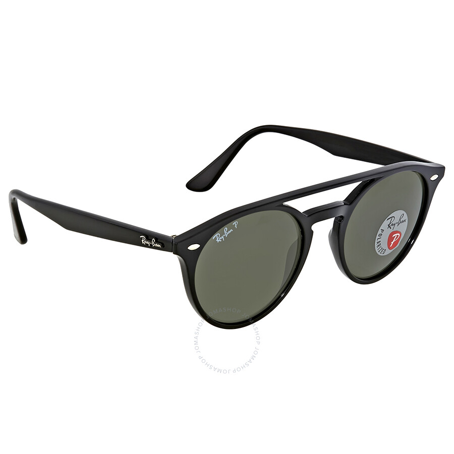 9a78dafc2a Ray Ban Round Polarized Green Classic Round Sunglasses - Round - Ray ...