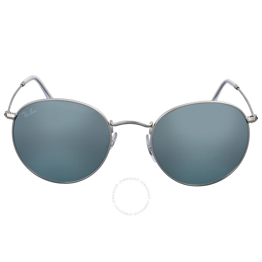 e6c35642e83 Ray Ban Round Silver Flash Sunglasses - Round - Ray-Ban - Sunglasses ...