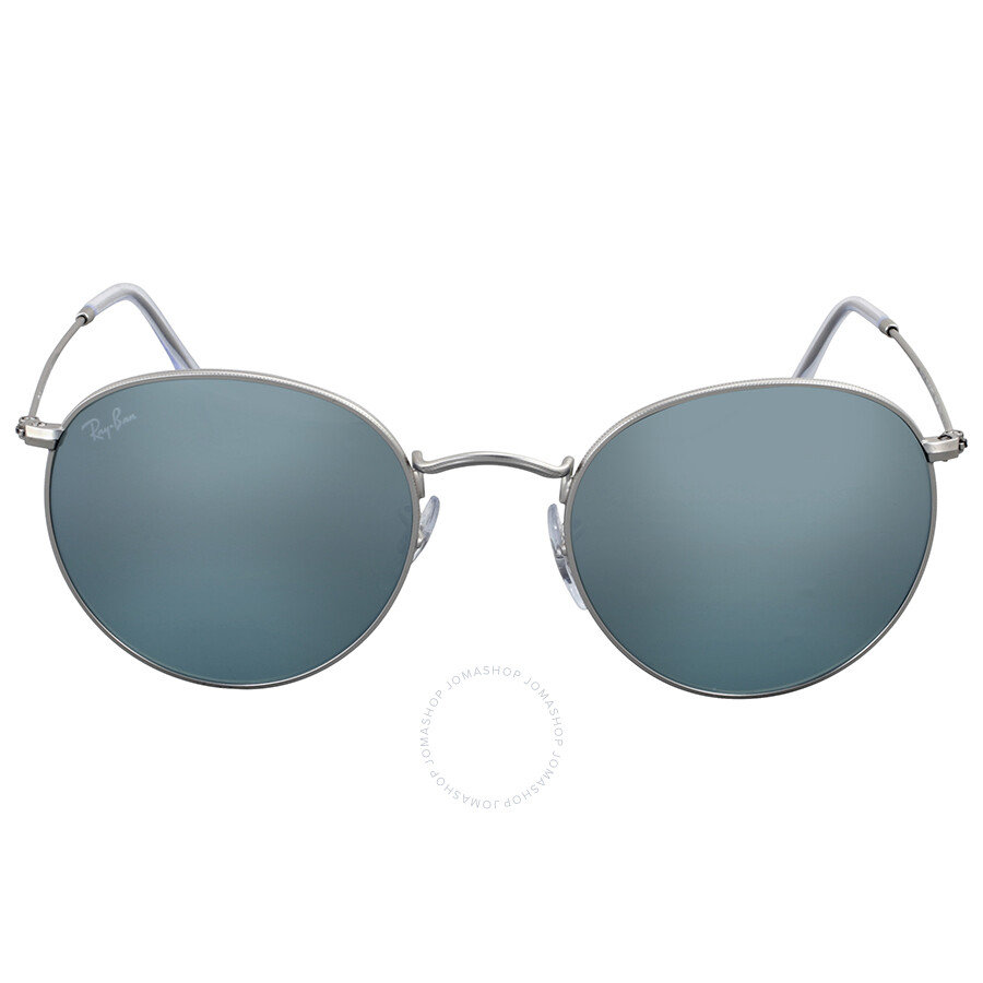 68bae724f7f Ray Ban Round Silver Flash Sunglasses - Round - Ray-Ban - Sunglasses ...