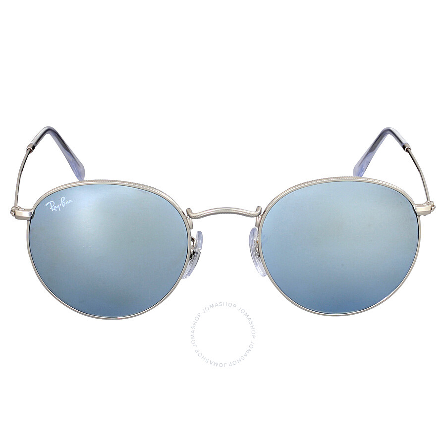 Ray ban sunglasses circle - Ray Ban Round Silver Flash Sunglasses Rb3447 019 30 50