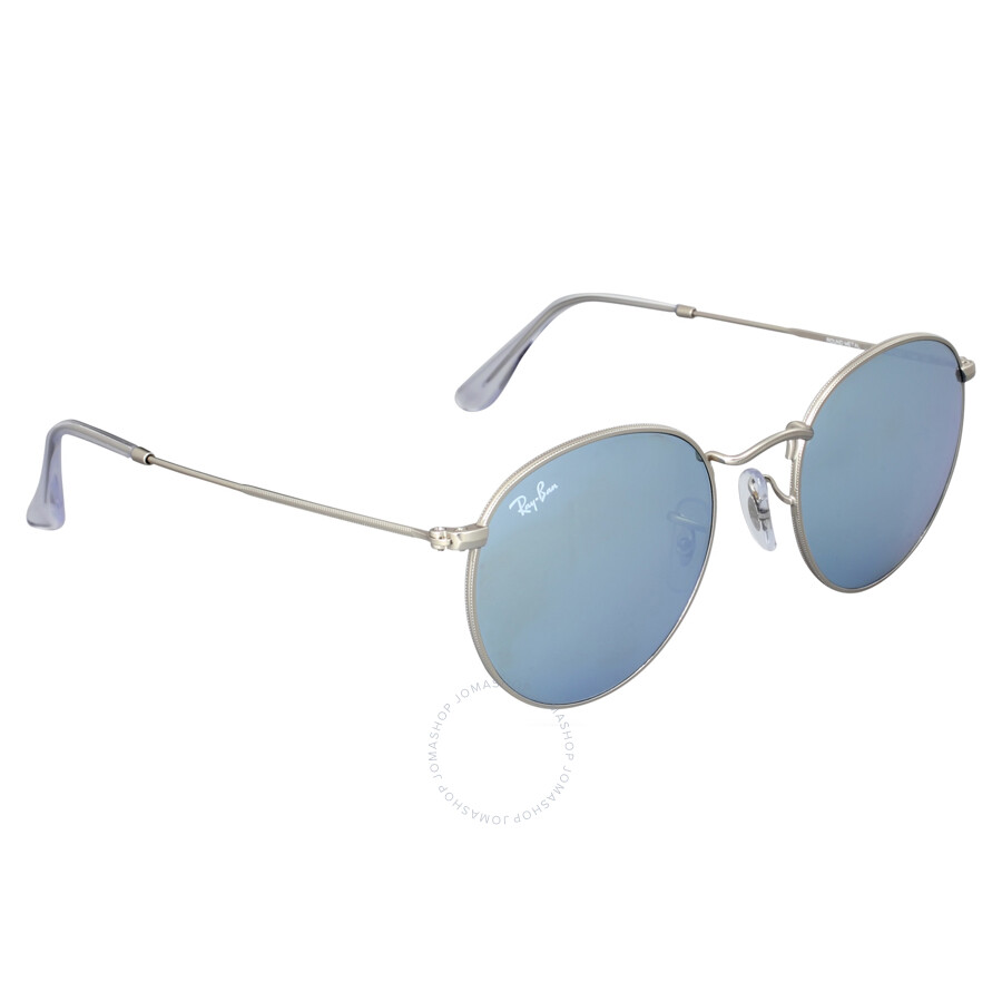 eb931bed86 Ray-Ban Round Silver Flash Sunglasses RB3447 019 30 50 - Ray-Ban ...