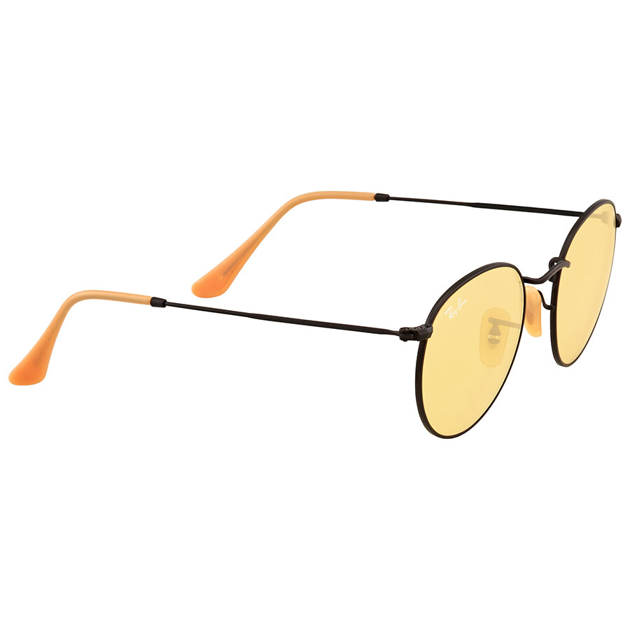 051534321f ... Ray Ban Round Yellow Photochromic Sunglasses RB3447 90664A 50 ...