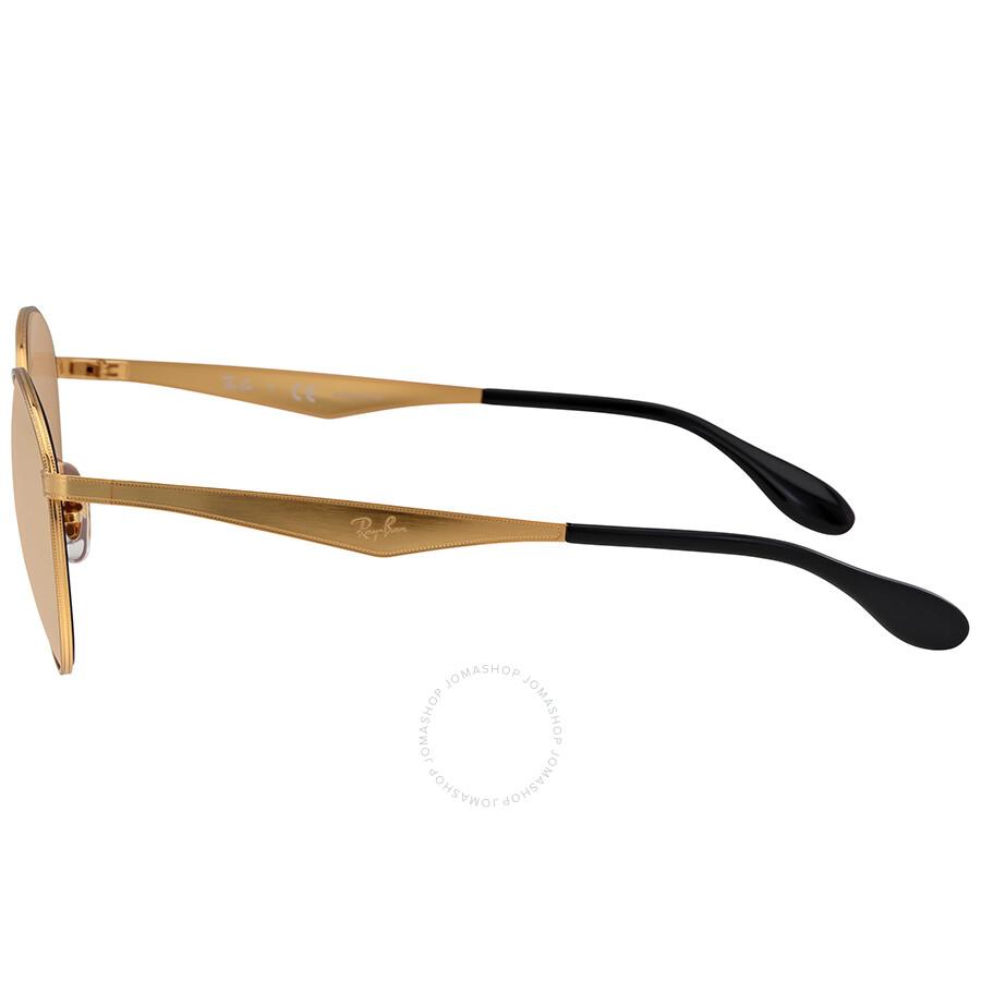 172a2cdb822e1 Ray Ban Round Copper Mirror Sunglasses - Round - Ray-Ban ...