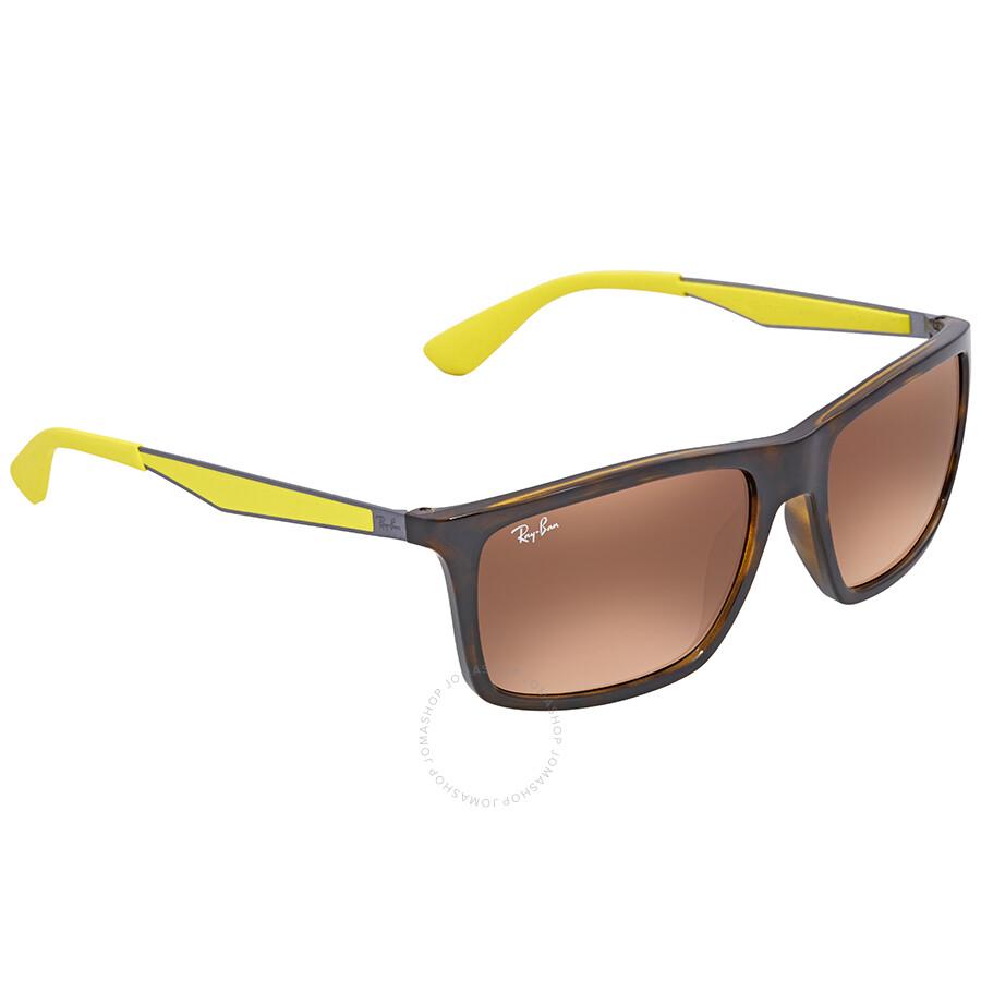 c5650ae494 Ray Ban Scuderia Ferrari Brown Gradient Rectangular Sunglasses RB4228M  F60913 58 ...