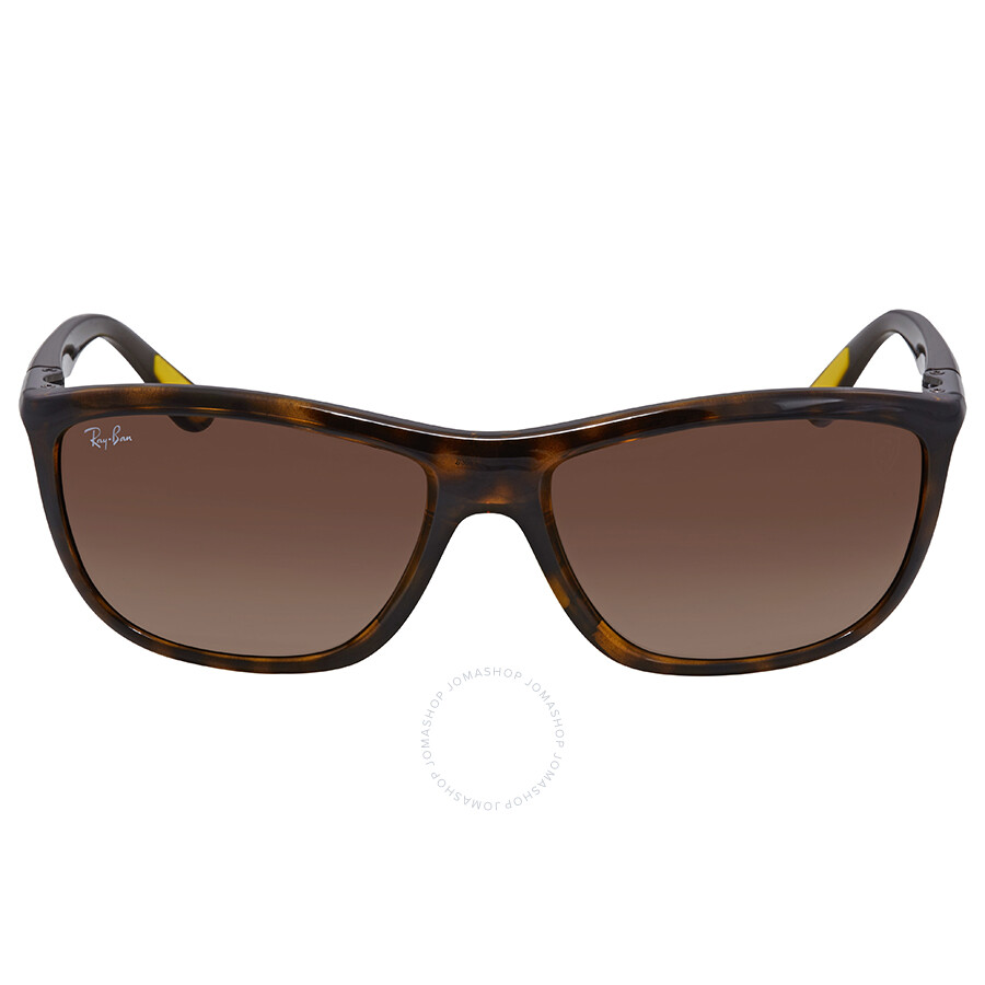 882822e6d1f ... Ray Ban Scuderia Ferrari Brown Gradient Square Sunglasses RB8351M F60913  60 ...