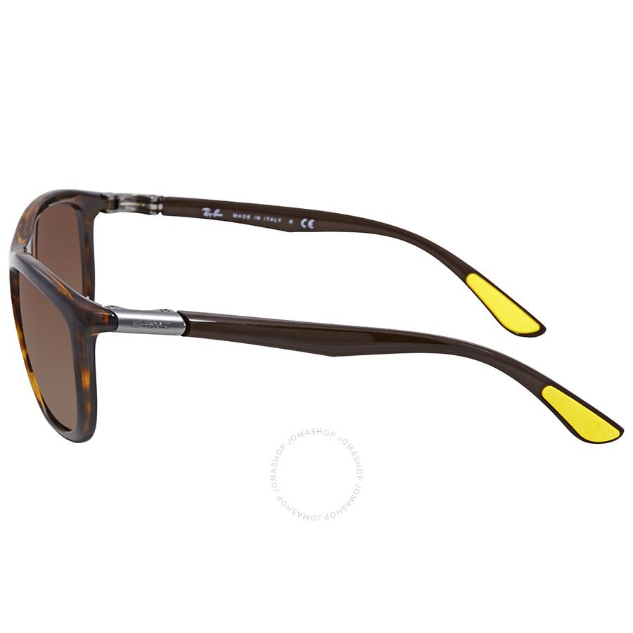 fd6f82ee2e6 ... Ray Ban Scuderia Ferrari Brown Gradient Square Sunglasses RB8351M F60913  60