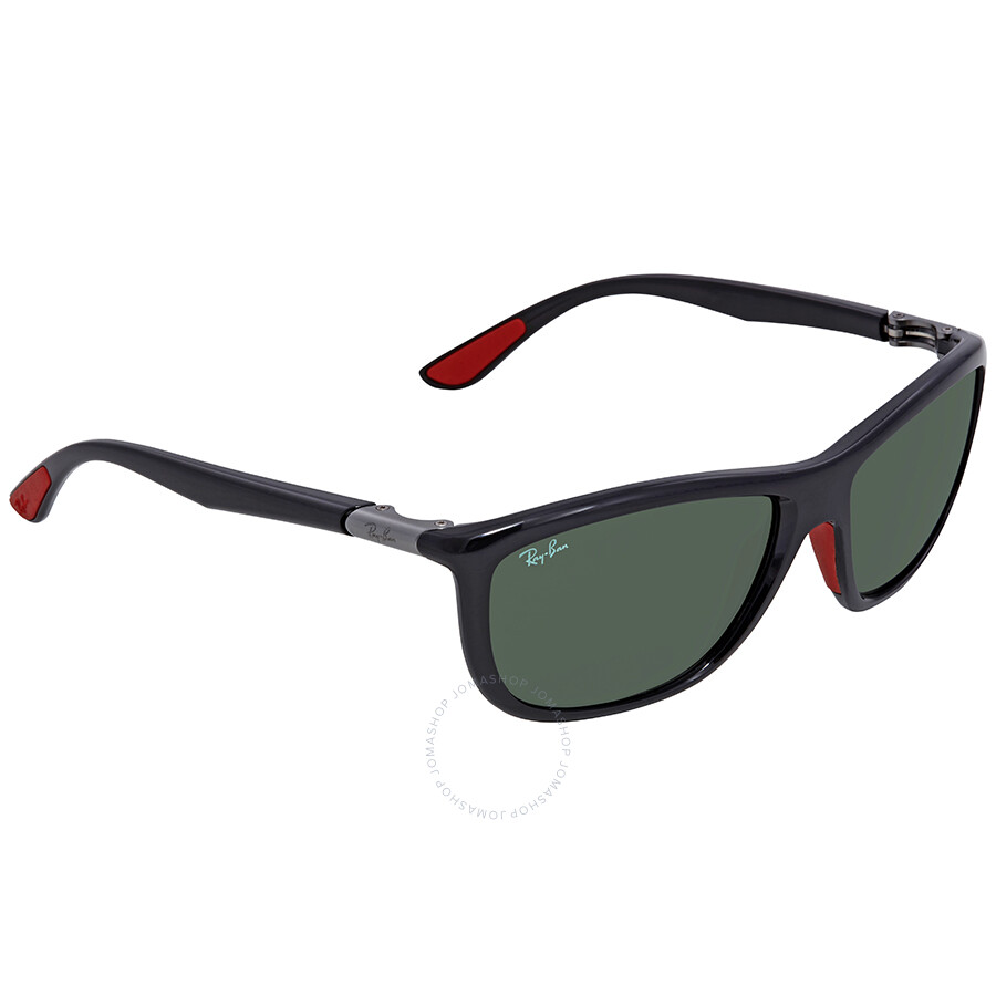 e0fb0247378 Ray Ban Scuderia Ferrari Green Classic Square Sunglasses RB8351M F60171 60  ...