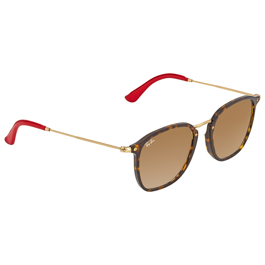 1608d6057a9 Ray Ban Scuderia Ferrari Light Brown Gradient Sunglasses RB2448MF F61351 53  ...