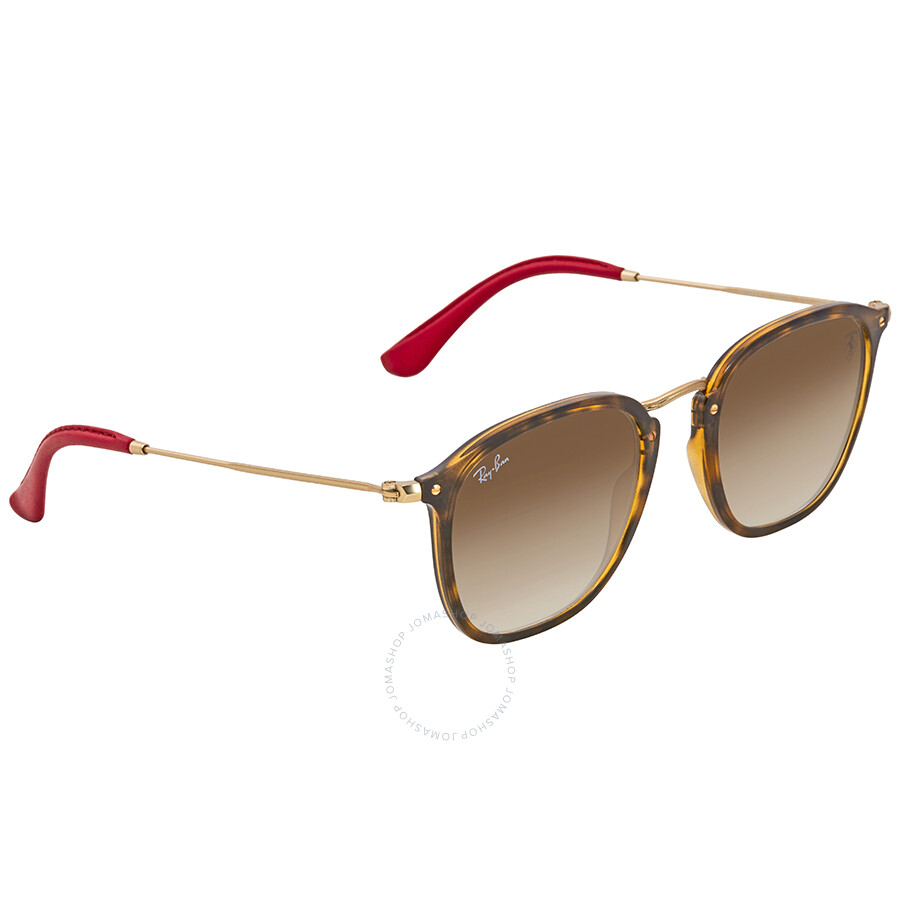 3e194a6c75 Ray Ban Scuderia Ferrari Light Brown Gradient Sunglasses RB2448NM F60351 51  ...