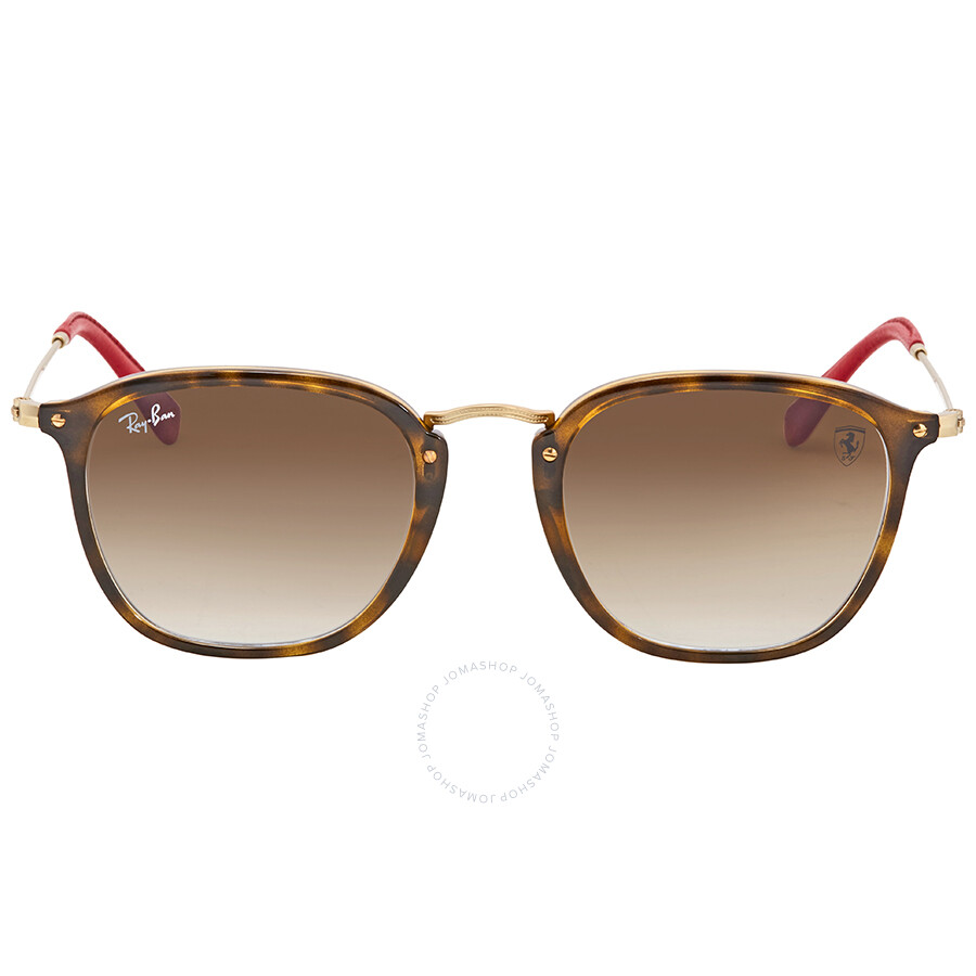 a7466cfd47 ... Ray Ban Scuderia Ferrari Light Brown Gradient Sunglasses RB2448NM  F60351 51 ...
