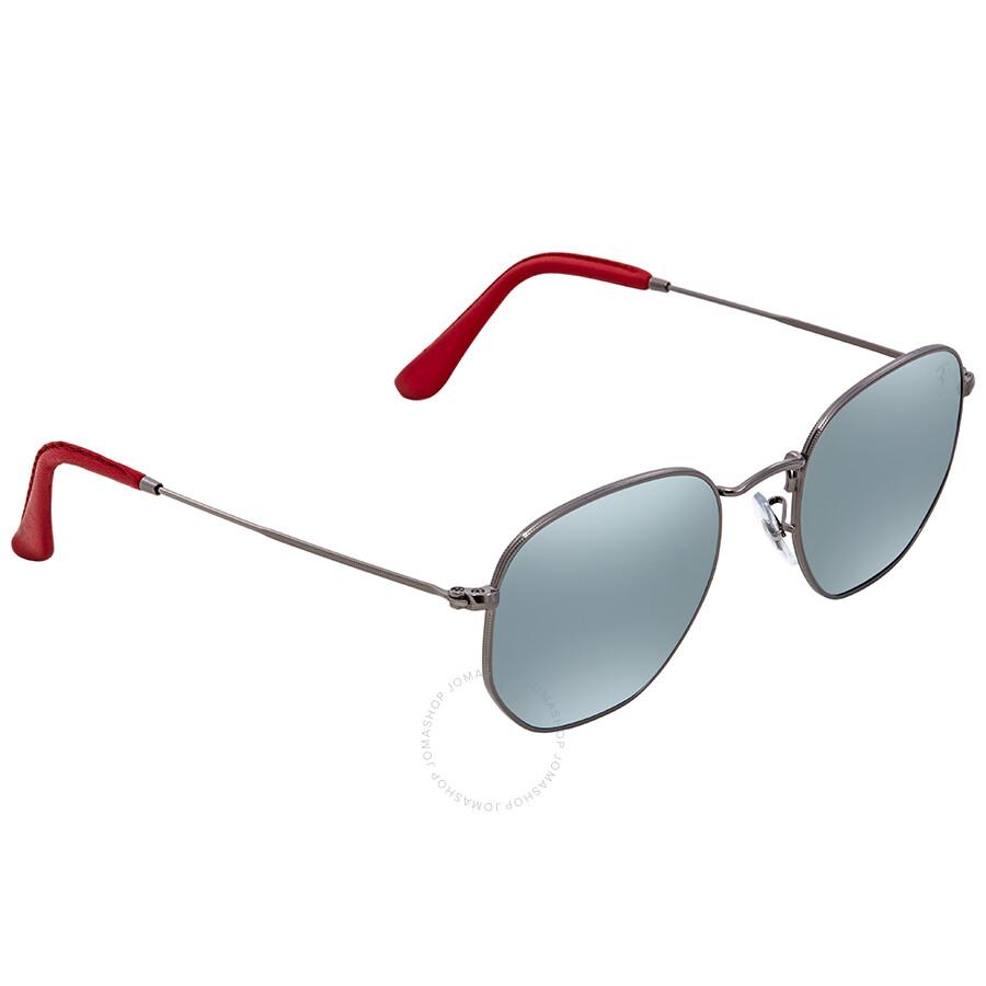 ddccd0a78c Ray Ban Scuderia Ferrari Silver Flash Sunglasses RB3548NM F00130 51 ...