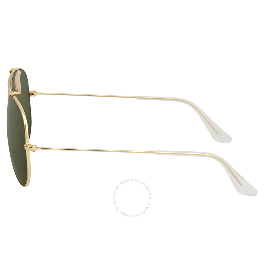 12ddb827a5bb4f Ray Ban Shooter Green Classic G-15 Men s Sunglasses RB3138 001 58 ...