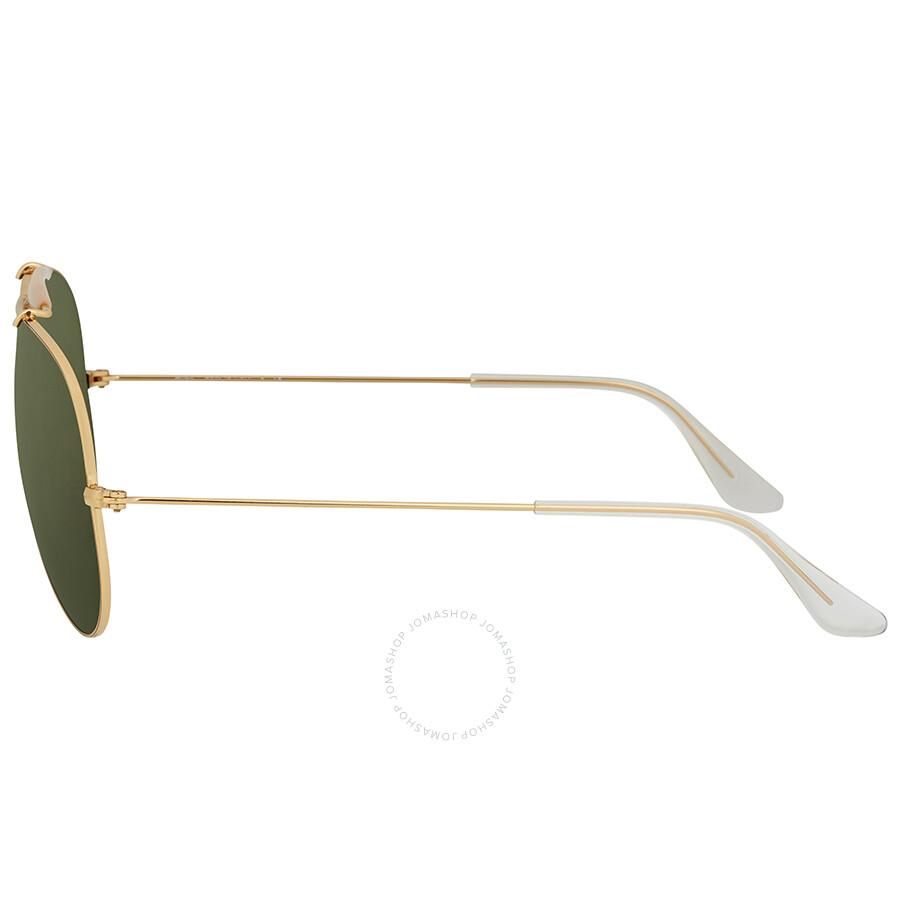 e06995c8081 Ray Ban Shooter Green Classic G-15 Men s Sunglasses RB3138 001 62 ...