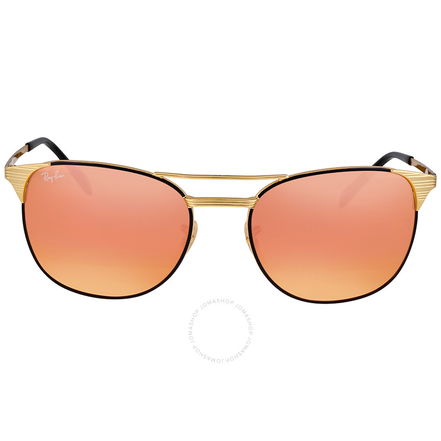 2c96528869 Ray Ban Signet Copper Flash MetaL Sunglasses - Ray-Ban - Sunglasses ...