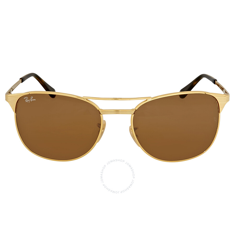 48e669adff Ray Ban Signet Gold Sunglasses - Signet - Ray-Ban - Sunglasses ...