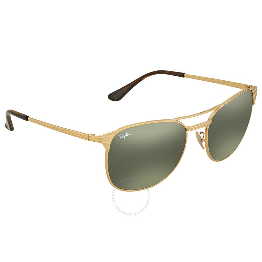 fefc90abeb Ray Ban Signet Green Classic G-15 Men s Sunglasses RB3429M 001 58 ...