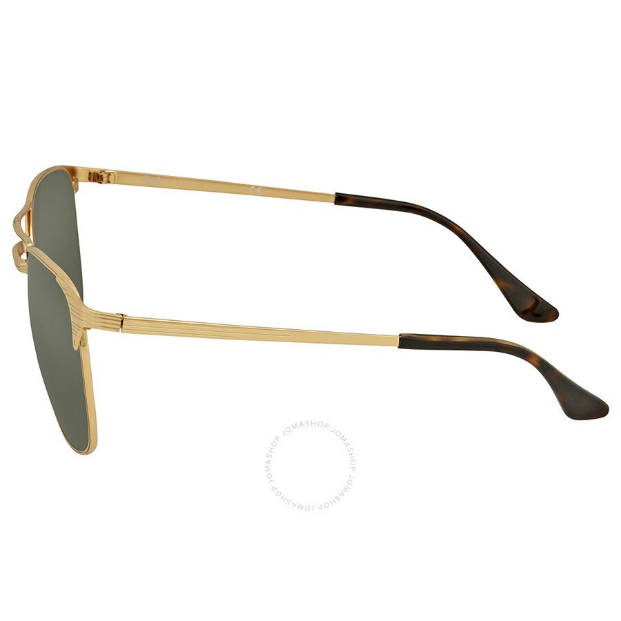 372ad4b17b Ray Ban Signet Green Classic G-15 Men s Sunglasses RB3429M 001 58 ...