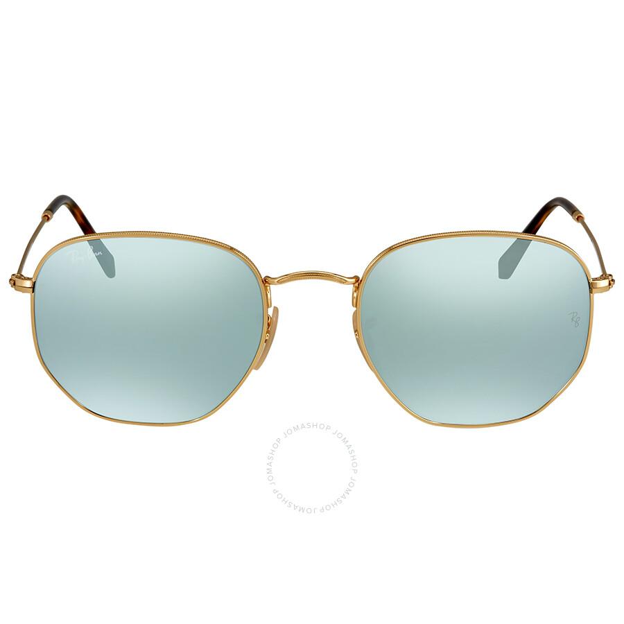 d7f55306e9413 Ray Ban Silver Flash Men s Sunglasses RB3548N 001 30 54 - Round ...