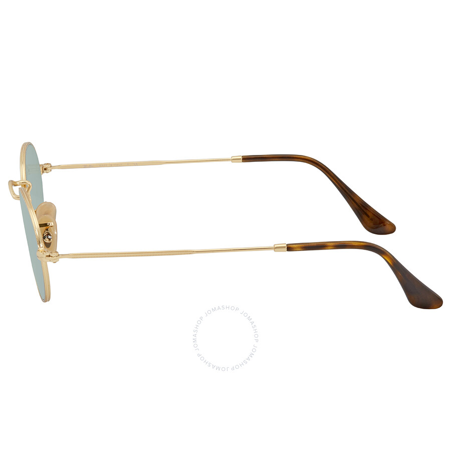 05832b93d9 Ray Ban Silver Flash Oval Sunglasses RB3547N 001 30 48 - Round - Ray ...