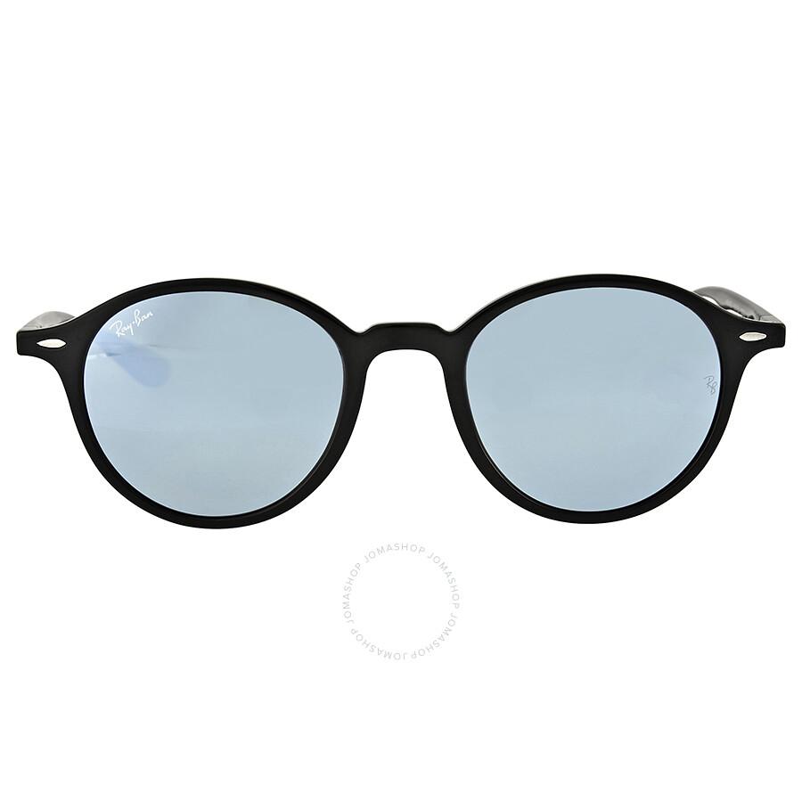 b25ed3a18d5 Ray Ban Silver Flash Round Sunglasses - Round - Ray-Ban - Sunglasses ...